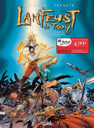 Couverture Lanfeust de Troy tome 1 - OP 20 ans