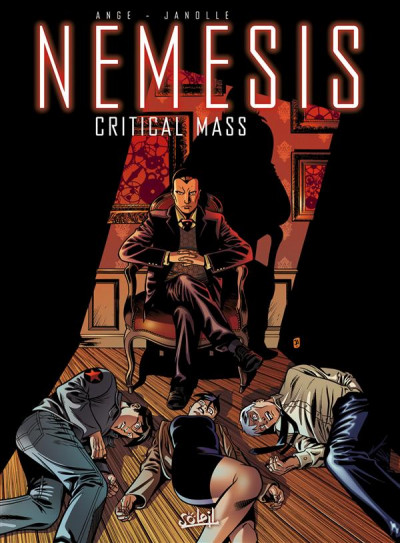Couverture Nemesis tome 3 - critical mass