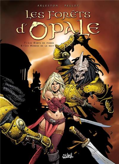 Couverture Les Forêts d'Opale tome 7 et tome 8 (N&B)