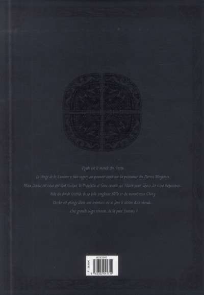 Dos Les Forêts d'Opale tome 7 et tome 8 (N&B)