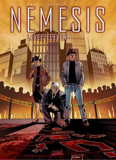 Couverture Nemesis tome 1 - Level eleven (édition 2014)