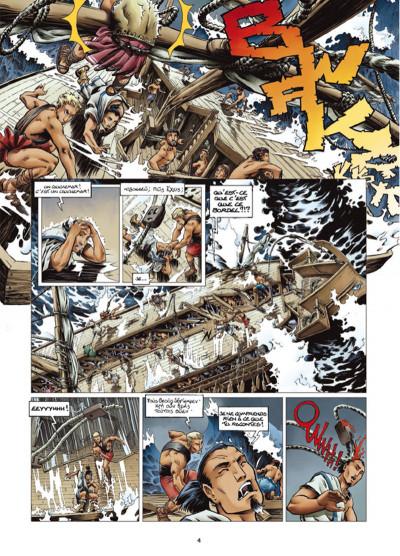 Page 2 Odyxes tome 1 - Naufragé du temps