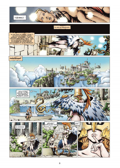 Page 3 Odyxes tome 1 - Naufragé du temps