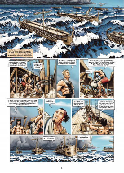 Page 4 Odyxes tome 1 - Naufragé du temps