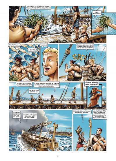 Page 5 Odyxes tome 1 - Naufragé du temps