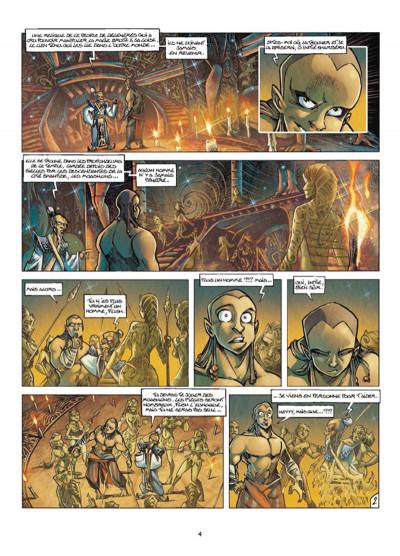 Page 2 Tykko des sables tome 3 - La Colline aux cent temples