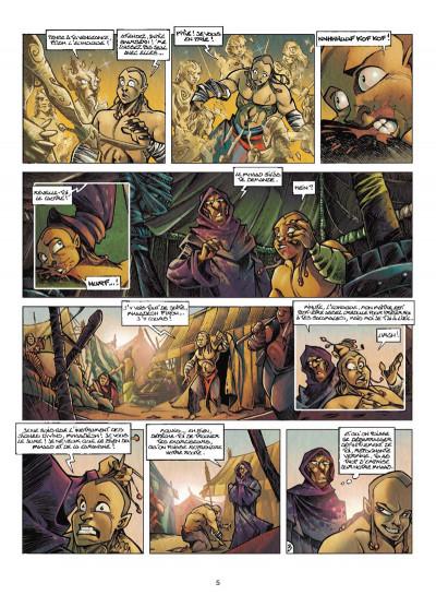 Page 3 Tykko des sables tome 3 - La Colline aux cent temples