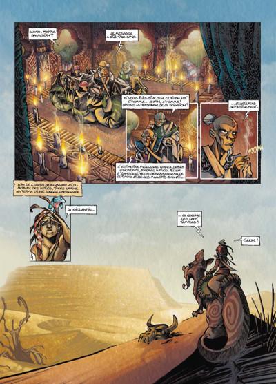 Page 4 Tykko des sables tome 3 - La Colline aux cent temples