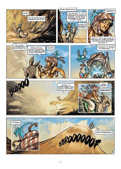 Page 5 Tykko des sables tome 3 - La Colline aux cent temples