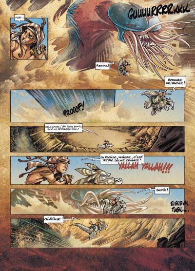 Page 6 Tykko des sables tome 3 - La Colline aux cent temples