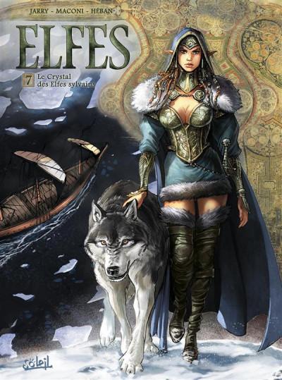 image de Elfes tome 7 - Le crystal des elfes sylvains