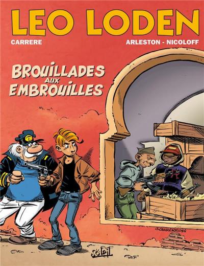 Couverture Léo Loden tome 23 - Brouillades aux embrouilles