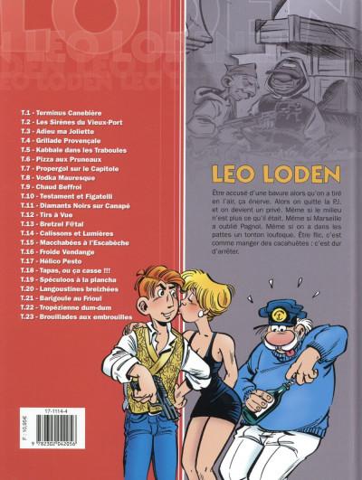 Dos Léo Loden tome 23 - Brouillades aux embrouilles