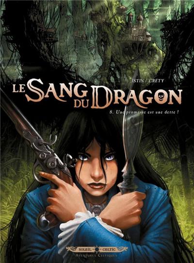 Couverture Le sang du dragon tome 8