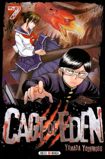 Couverture Cage of Eden tome 7