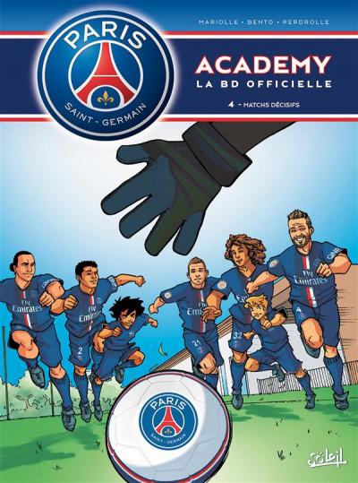 Couverture PSG Academy tome 4