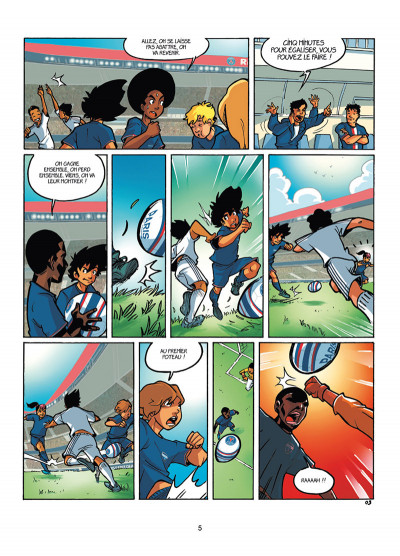 Page 3 PSG Academy tome 4