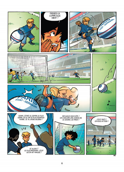 Page 4 PSG Academy tome 4