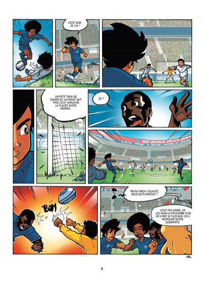 Page 6 PSG Academy tome 4