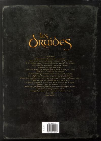 Dos Les Druides - Coffret tome 4 à tome 6