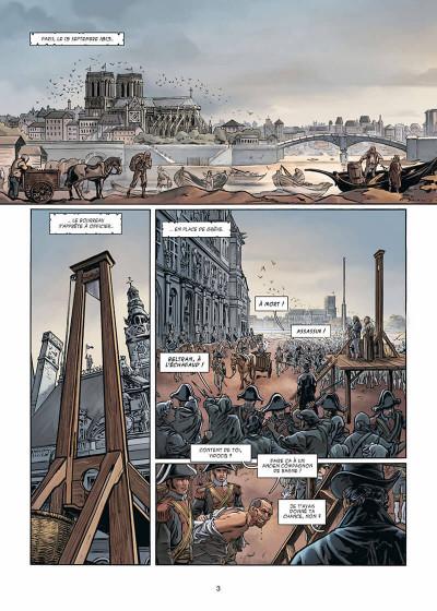 Page 4 Vidocq tome 1 - Le Suicidé de Notre-Dame