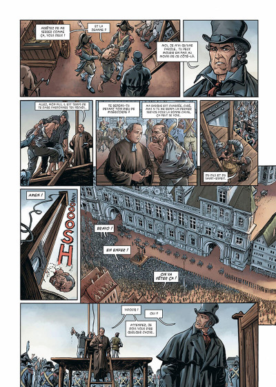 Page 5 Vidocq tome 1 - Le Suicidé de Notre-Dame