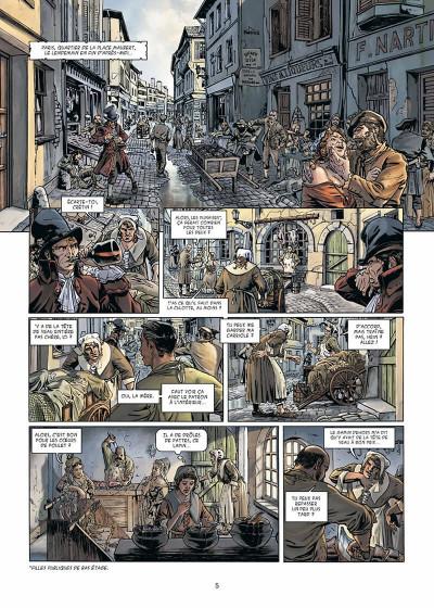 Page 6 Vidocq tome 1 - Le Suicidé de Notre-Dame