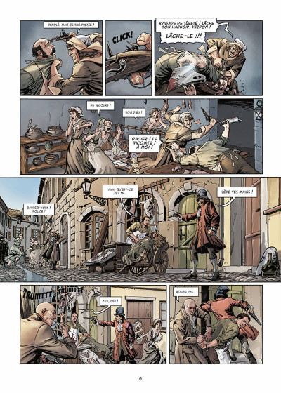 Page 7 Vidocq tome 1 - Le Suicidé de Notre-Dame