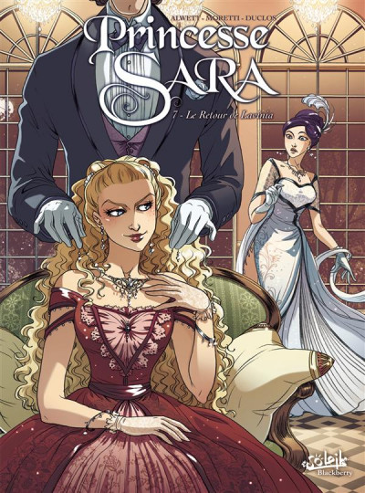 Couverture Princesse Sara tome 7 - Le Retour de Lavinia
