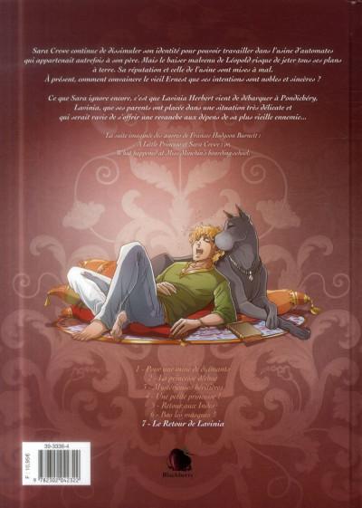 Dos Princesse Sara tome 7 - Le Retour de Lavinia