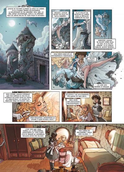 Page 1 Princesse Sara tome 7 - Le Retour de Lavinia
