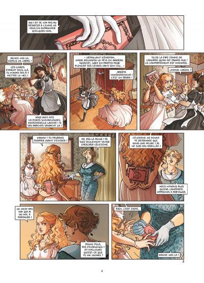 Page 2 Princesse Sara tome 7 - Le Retour de Lavinia