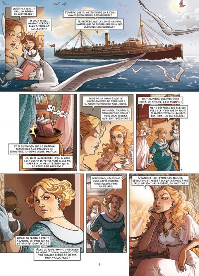 Page 3 Princesse Sara tome 7 - Le Retour de Lavinia