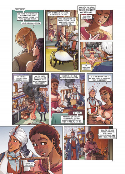 Page 5 Princesse Sara tome 7 - Le Retour de Lavinia