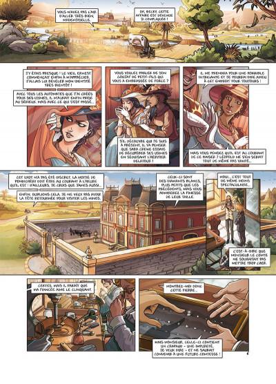Page 6 Princesse Sara tome 7 - Le Retour de Lavinia