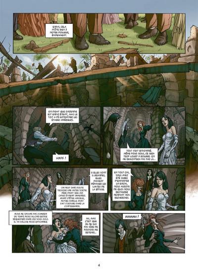 Page 2 My Lady Vampire tome 3 - Sonnez l'hallali