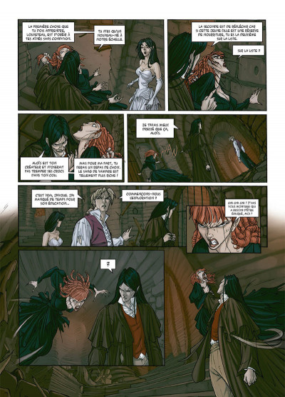 Page 3 My Lady Vampire tome 3 - Sonnez l'hallali