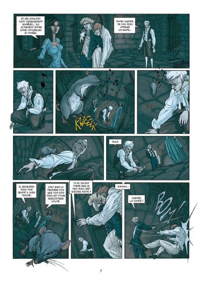 Page 5 My Lady Vampire tome 3 - Sonnez l'hallali