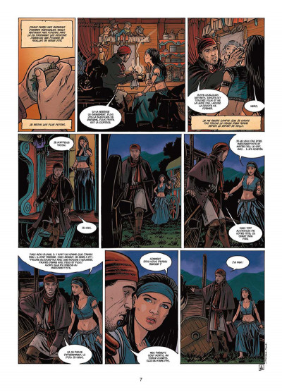 Page 5 L'assassin royal tome 8