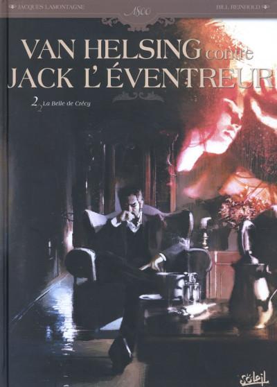 Couverture Van Helsing contre Jack l'Éventreur tome 2 - La Belle de Crécy