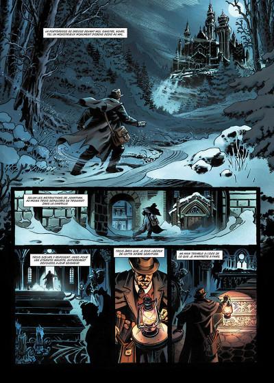 Page 4 Van Helsing contre Jack l'Éventreur tome 2 - La Belle de Crécy