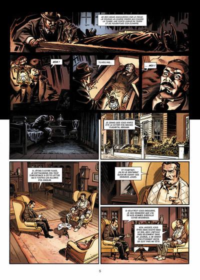 Page 6 Van Helsing contre Jack l'Éventreur tome 2 - La Belle de Crécy