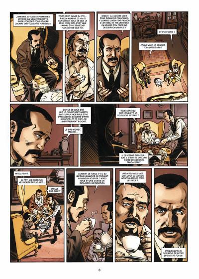 Page 7 Van Helsing contre Jack l'Éventreur tome 2 - La Belle de Crécy