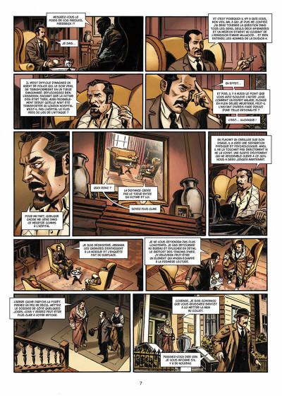 Page 8 Van Helsing contre Jack l'Éventreur tome 2 - La Belle de Crécy