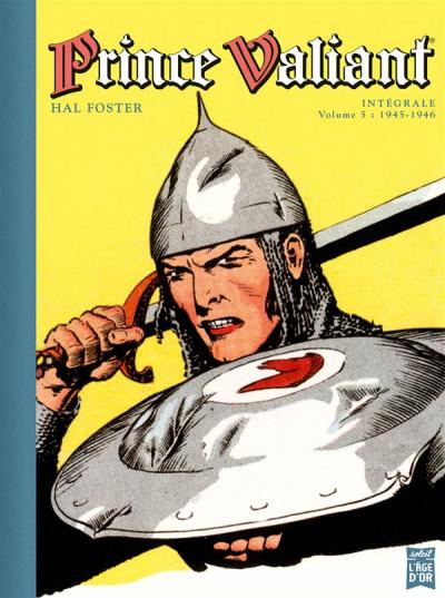 Couverture Prince Valiant tome 5 - Intégrale 1945-1946