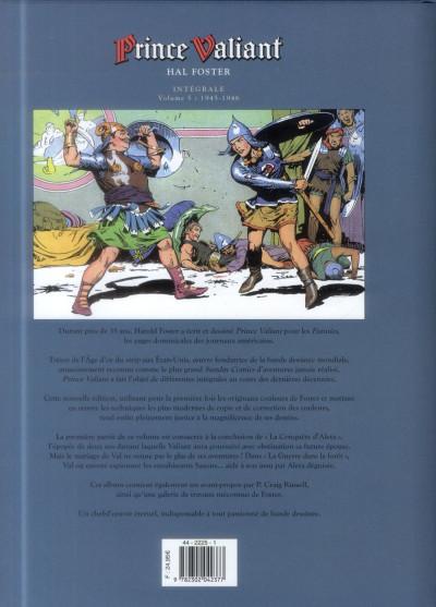 Dos Prince Valiant tome 5 - Intégrale 1945-1946
