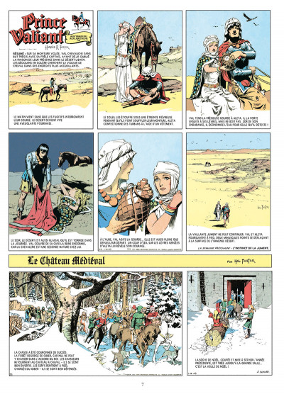 Page 2 Prince Valiant tome 5 - Intégrale 1945-1946