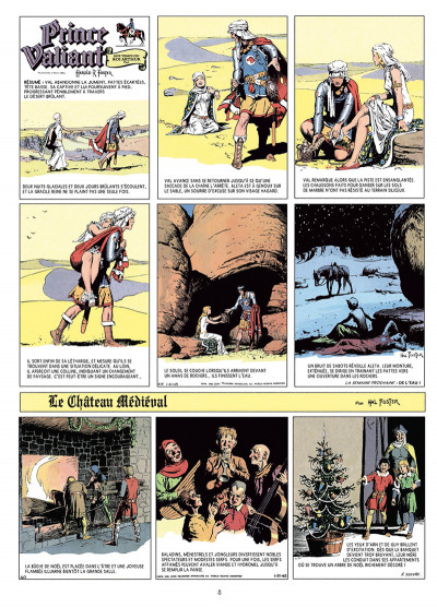 Page 3 Prince Valiant tome 5 - Intégrale 1945-1946