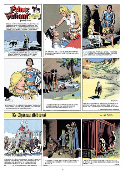 Page 4 Prince Valiant tome 5 - Intégrale 1945-1946