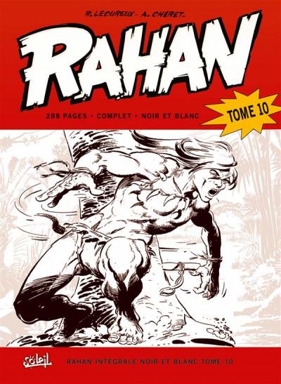 Couverture Rahan - intégrale noir et blanc tome 10